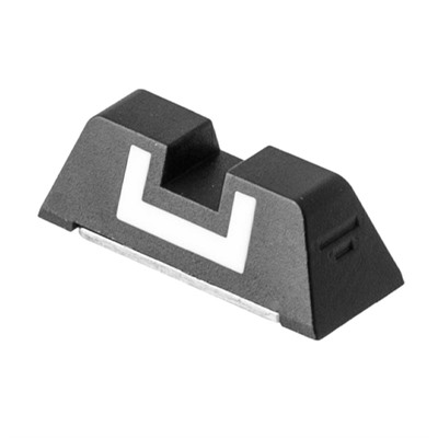 Sight - Polymer -Fixed 6.1mm Rear - Slim Glock.