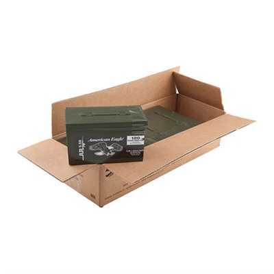 American Eagle Ammo 5.56x45mm Nato 55gr Xm193 Mini Ammo Cans by Federal