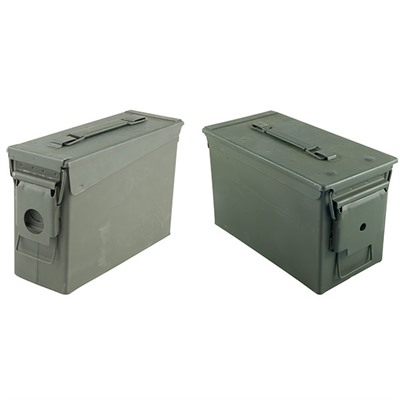 These all-steel ammo cans will hold hundreds of loose rounds and has many uses around the workshop or in the field. Manufactured ...