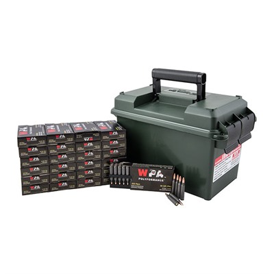 Polyformance Ammo 223 Remington 55gr FMJ Ammo Can by Wolf