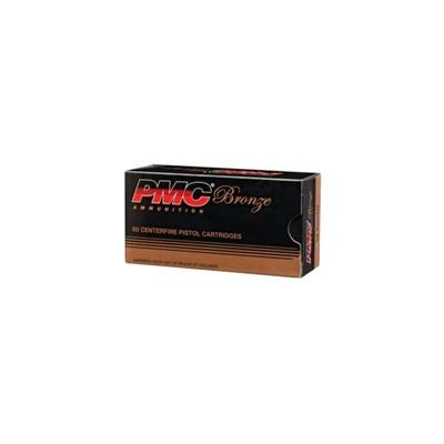 PMC AMMUNITION, INC. - BRONZE PISTOL AMMO
