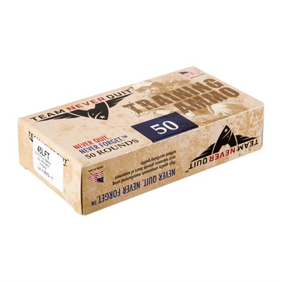 Frangible Lead Free Training Ammo 45 Acp 155gr Fmj-Fn Team Never Quit.