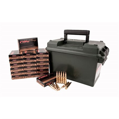 Bronze Ammo 223 Remington 55gr FMJ Ammo Can by Pmc Ammunition, Inc.