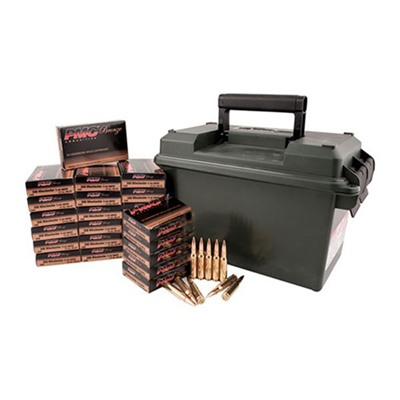 Bronze Ammo 9mm Luger 115gr FMJ Ammo Can by Pmc Ammunition, Inc.