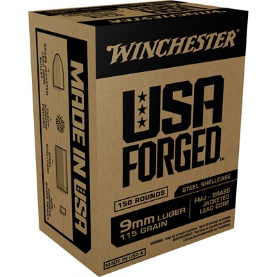 Usa Forged Ammo 9mm Luger 115gr Fmj Winchester.