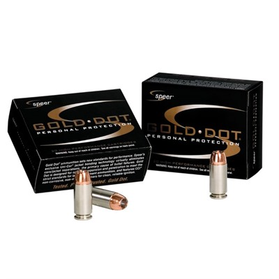 Gold Dot 327 Federal Ammo Speer.