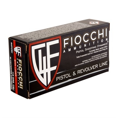 Shooting Dynamics Ammo 9mm Luger 115gr Cmj Fiocchi Ammunition.