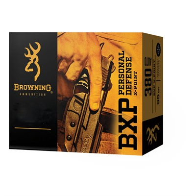 Bxp Personal Defense 40 S&w 180gr X-Point Browning.