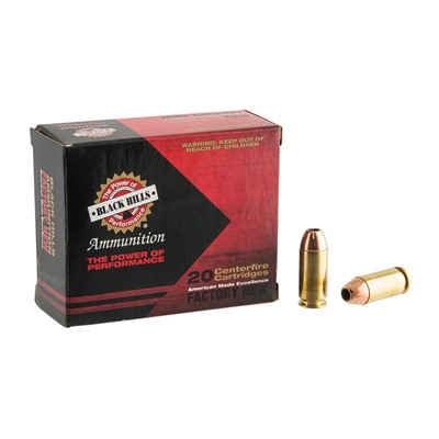 40 S&w 180gr Jacketed Hollow Point Ammo Black Hills Ammunition.
