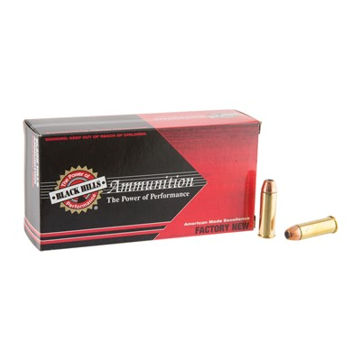44 Magnum 240gr Jacketed Hollow Point Ammo Black Hills Ammunition.