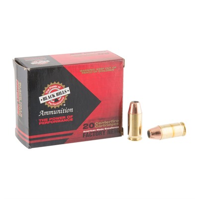 45 Acp 185gr Jacketed Hollow Point Ammo Black Hills Ammunition.