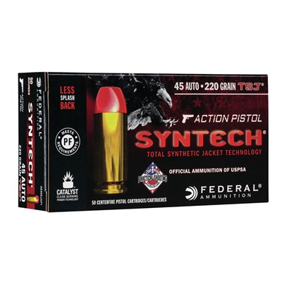 Syntech Action Pistol 45 Acp 220gr Fn Total Synthetic Jacket American Eagle.