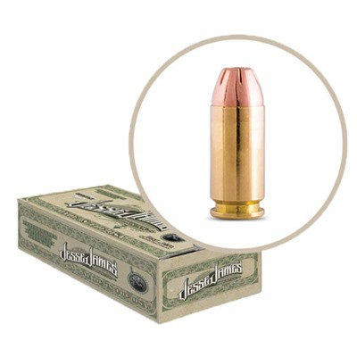 Jesse James Tml Label 40 S&w Ammo Ammo Incorporated.