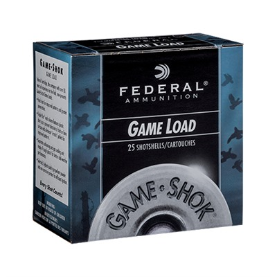 Game-Shok Upland Heavy Field 12 Gauge 2-3/4 Ammo Federal.