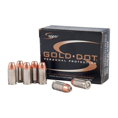 Speer Gold Dot Ammo 9mm Luger 124gr Hp Speer.