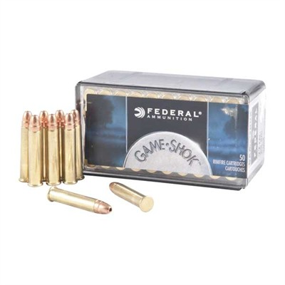 Game-Shok Ammo 22 Magnum (wmr) 50gr Jacketed Hollow Point Federal.