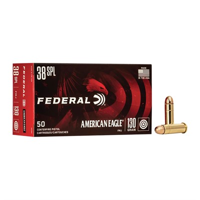 American Eagle Ammo 38 Special 130gr Fmj American Eagle.