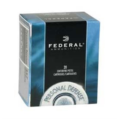 Personal Defense Ammo 9mm Luger 115gr Hydra-Shok Federal.