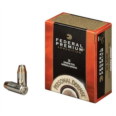 Personal Defense Ammo 9mm Luger 135gr Hydra-Shok Federal.