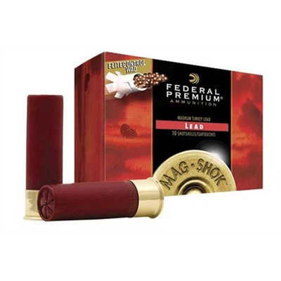 Mag-Shok Ammo 12 Gauge 3 1-3/4 Oz 4 Shot Federal.