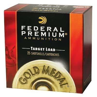 "Gold Medal Paper Ammo 12 Gauge 2-3/4"" 1-1/8 Oz 7.5 Shot Federal."