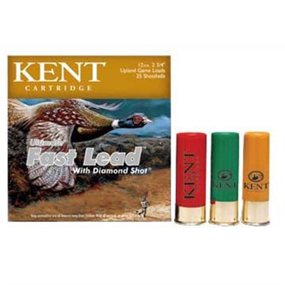 Ultimate Fast Lead Ammo 12 Gauge 2-3/4 & Quot; 1-3/8 Oz 6 Shot by Kent Cartridge
