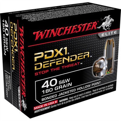 Pdx1 Defender Ammo 40 S&w 180gr Hp Winchester.