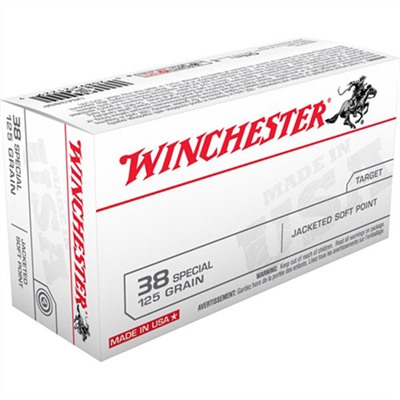 Usa White Box Ammo 38 Special 125gr Jsp Winchester.