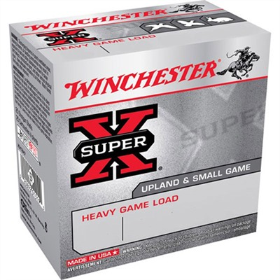 "Super-X Heavy Game Load Ammo 12 Gauge 2-3/4"" 1-1/8 Oz 7.5 Shot Winchester."