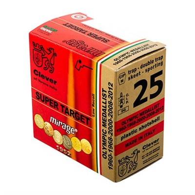 "T1 Supertarget Ammo 12 Gauge 2-3/4"" 1 Oz 8 Shot Clever."
