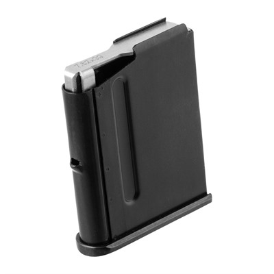 "Straight from the manufacturer of your rifle, these magazines ensure your CZ ""mini Mauser"" cycles rounds smoothly, without glitches. Traditional steel construction ..."