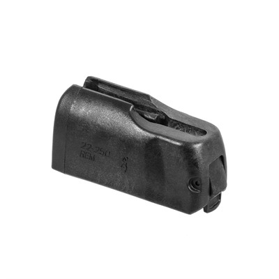 The X-Bolt uses a detachable rotary magazine constructed from a durable lightweight polymer.  The magazine feeds cartridges directly in line ...