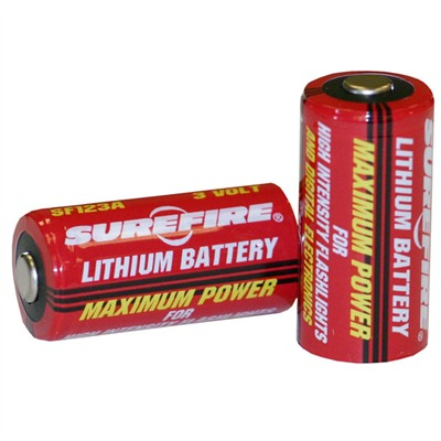 Sf123a Lithium Batteries Surefire.