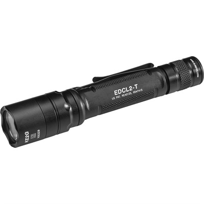 Edcl2-T Dual Output Everday Carry Flashlight 6v Surefire.