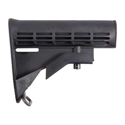 Ar-15 Stock Assy Collapsible Oem Blk Colt.