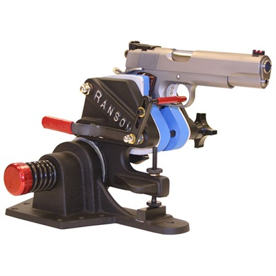 The finest handgun machine rest; very well made and extremely reliable. Shows pistolsmiths, competitive shooters and accuracy buffs the true shooting potential of ...