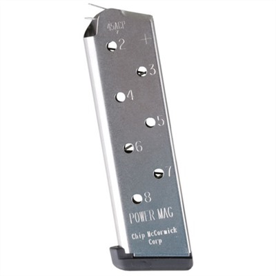1911 8rd 45acp Power Plus Magazine Chip Mccormick Custom, Llc..