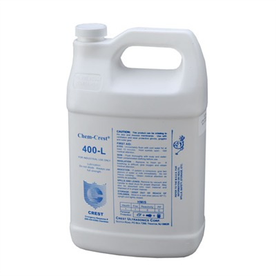 Cc-400l Ultrasonic Lubricant, Gallon Crest Ultrasonic.