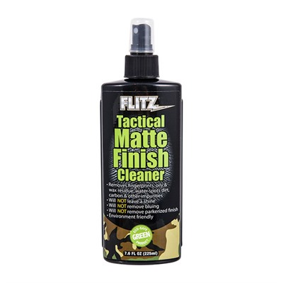 Tactical Matte Finish Cleaner Flitz.