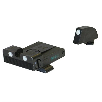Tru-Dot® Adjustable Tritium Night Sight Sets For Glock® Meprolight.