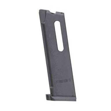 Reinforced polymer 10-round magazine is designed for a secure fit in a standard .45 ACP mag well, and has an anti-tilt polymer follower ...