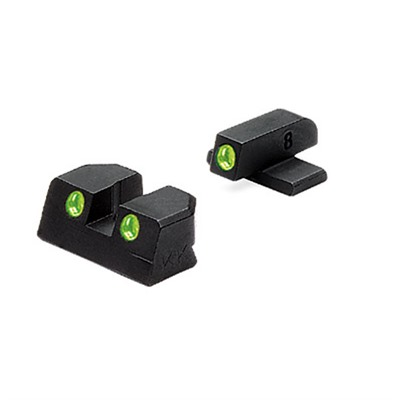 Bersa Thunder Tru-Dot® Tritium Night Sight Sets Meprolight.