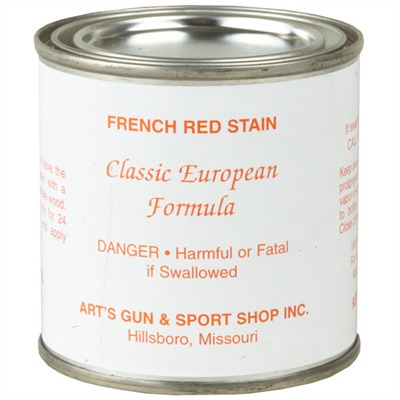 French Red Stain Herters.