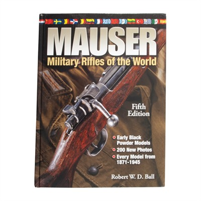 Mauser: Military Rifles Of The World-5th Edition Gun Digest.
