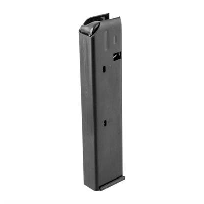 Rugged, all-steel, high-capacity magazines for 9mm AR-15 conversions that use a Colt-style magazine. Metal follower won't distort under a full load and ...