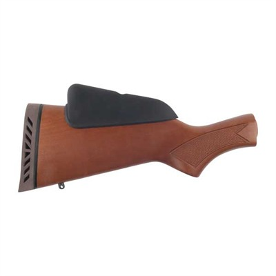 Buttstock, Walnut Stained Birch, Convertible High Dual Comb Mossberg.