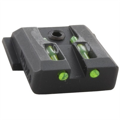 S&w M&p Lo-Mount Fiber Optic Rear Sights Novak.