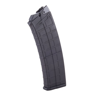 Lightweight, molded polymer magazine has reinforced steel feed lips to ensure reliable delivery of all 10 rounds to the chamber of your 12 ...