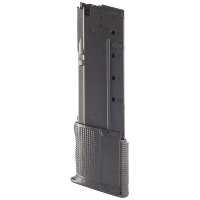 Rugged, lightweight polymer magazine increases the capacity of your 5.7 x 28mm FN Five-seveN pistol by an additional 10 rounds over the ...