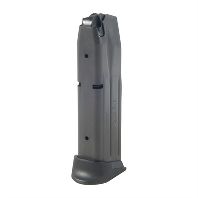 Available in 9mm  9mm magazines are available in 10 and 15 round capacities  Steel body ...